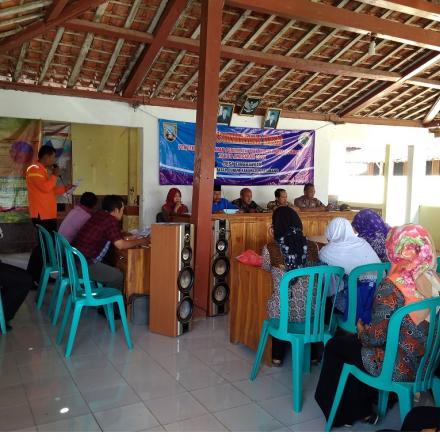16 Desa se kecamatan gunem mengikuti pelatihan sistem informasi desa